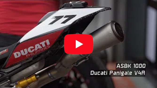 Ducati Philippines at ARRC Round 6 ASBK1000 Panigale V4 – 4K