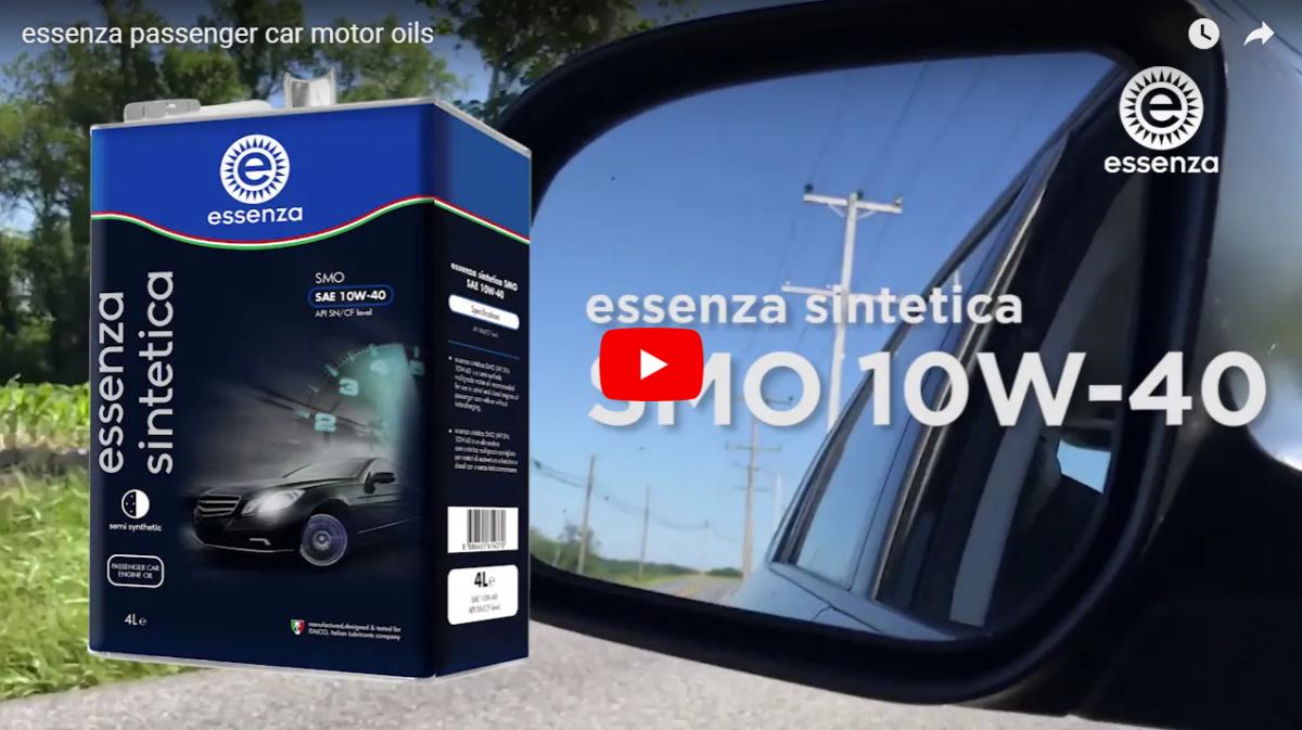 essenza passenger car motor oils